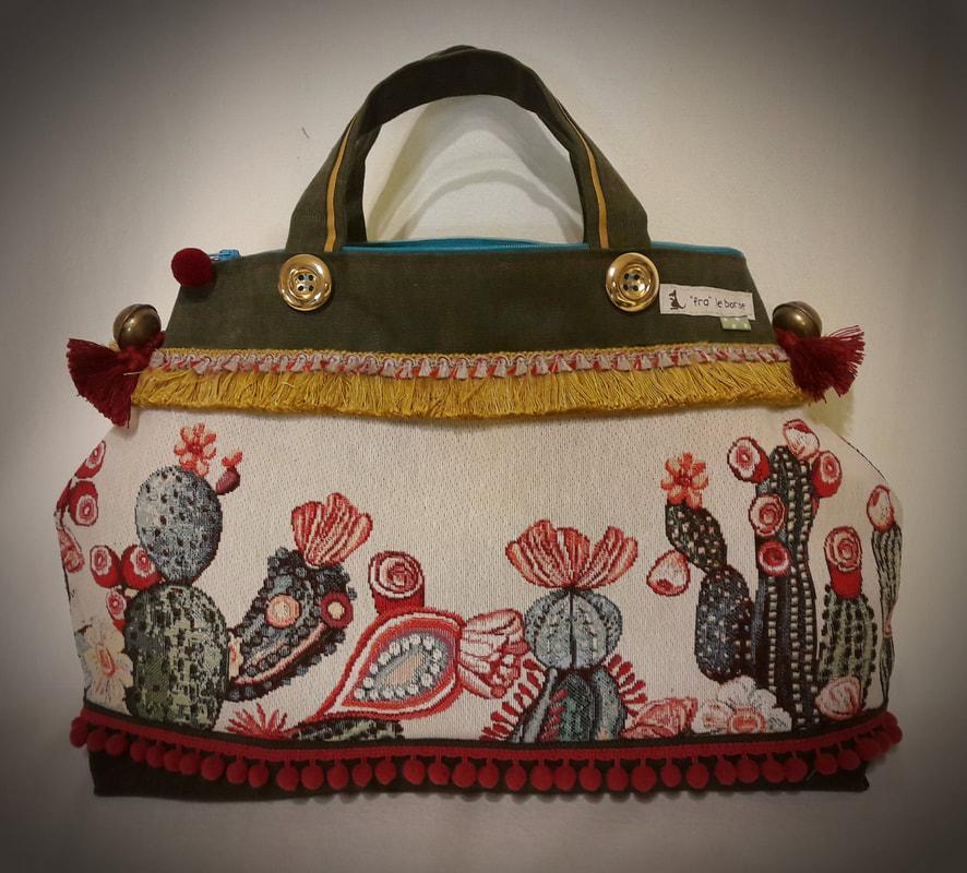 0a015d6129 Tra le novità del mese sono lieta di presentarvi una meravigliosa nuova  borsa...si chiama Rosalia.... ed ha gia fatto impazzire tutti!